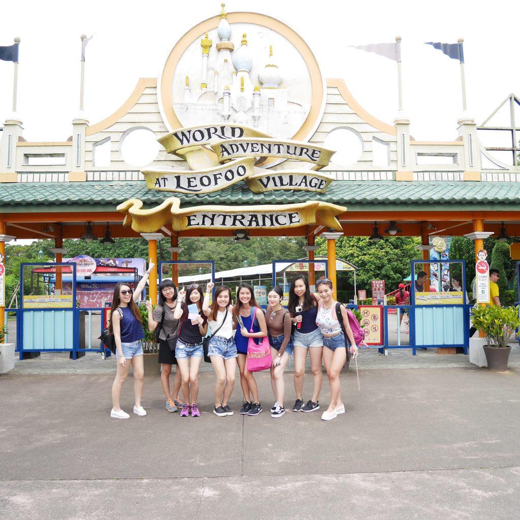 Đài Loan - Khu vui chơi Leofoo cực kỳ hoành tráng