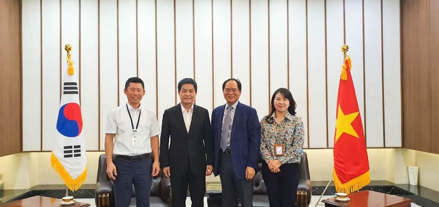 Vietravel gặp gỡ và làm việc với Đại sứ đặc mệnh toàn quyền Hàn Quốc tại Việt Nam
