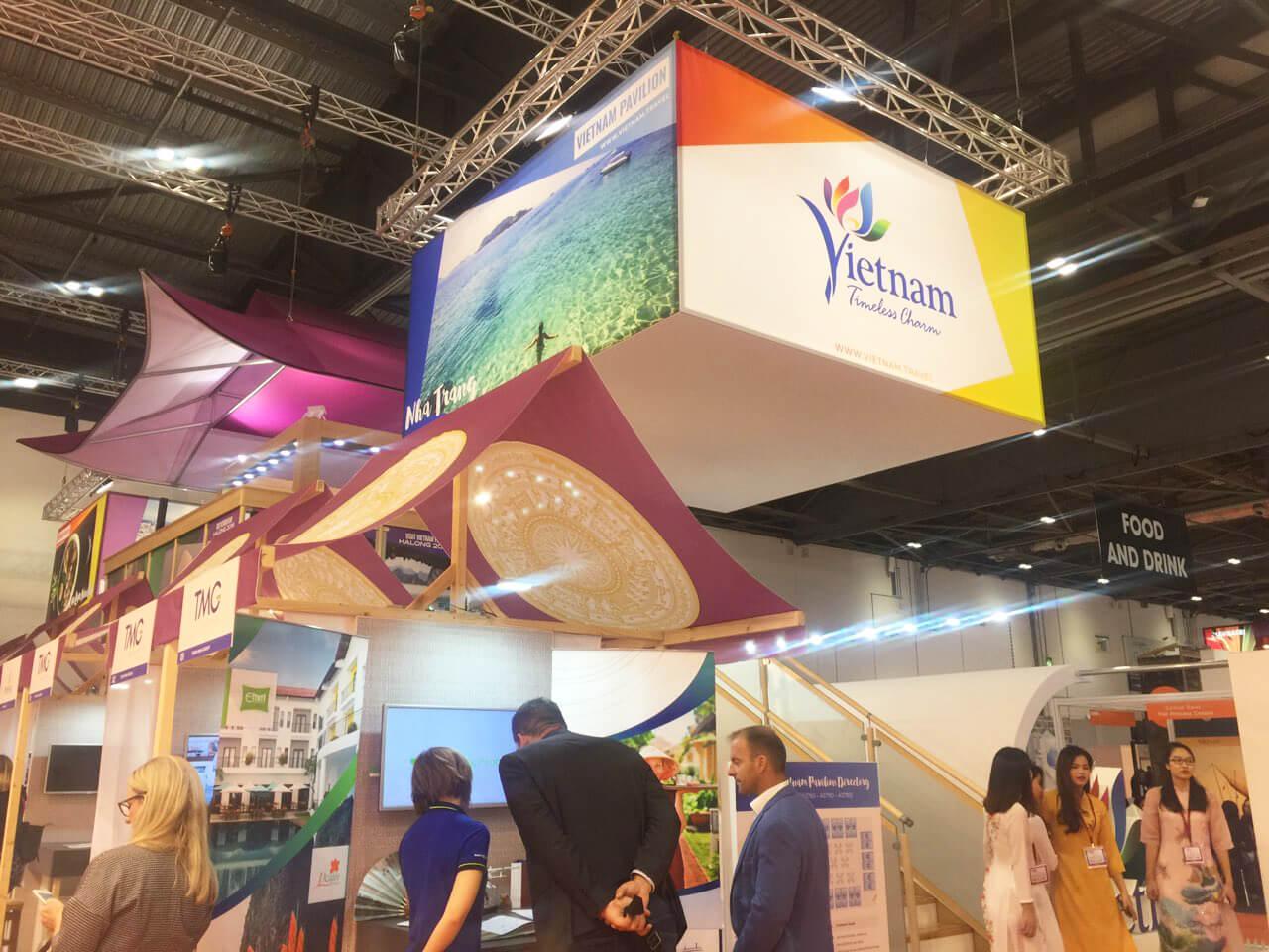 Vietravel quảng bá du lịch tại Hội chợ Du lịch Quốc tế WTM 2018