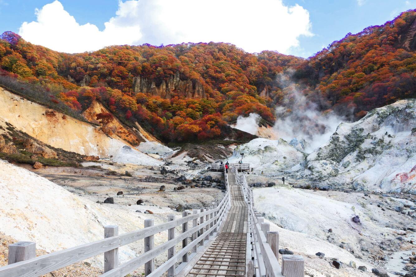 Hokkaido, vùng đất đón mùa thu sớm nhất Nhật Bản
