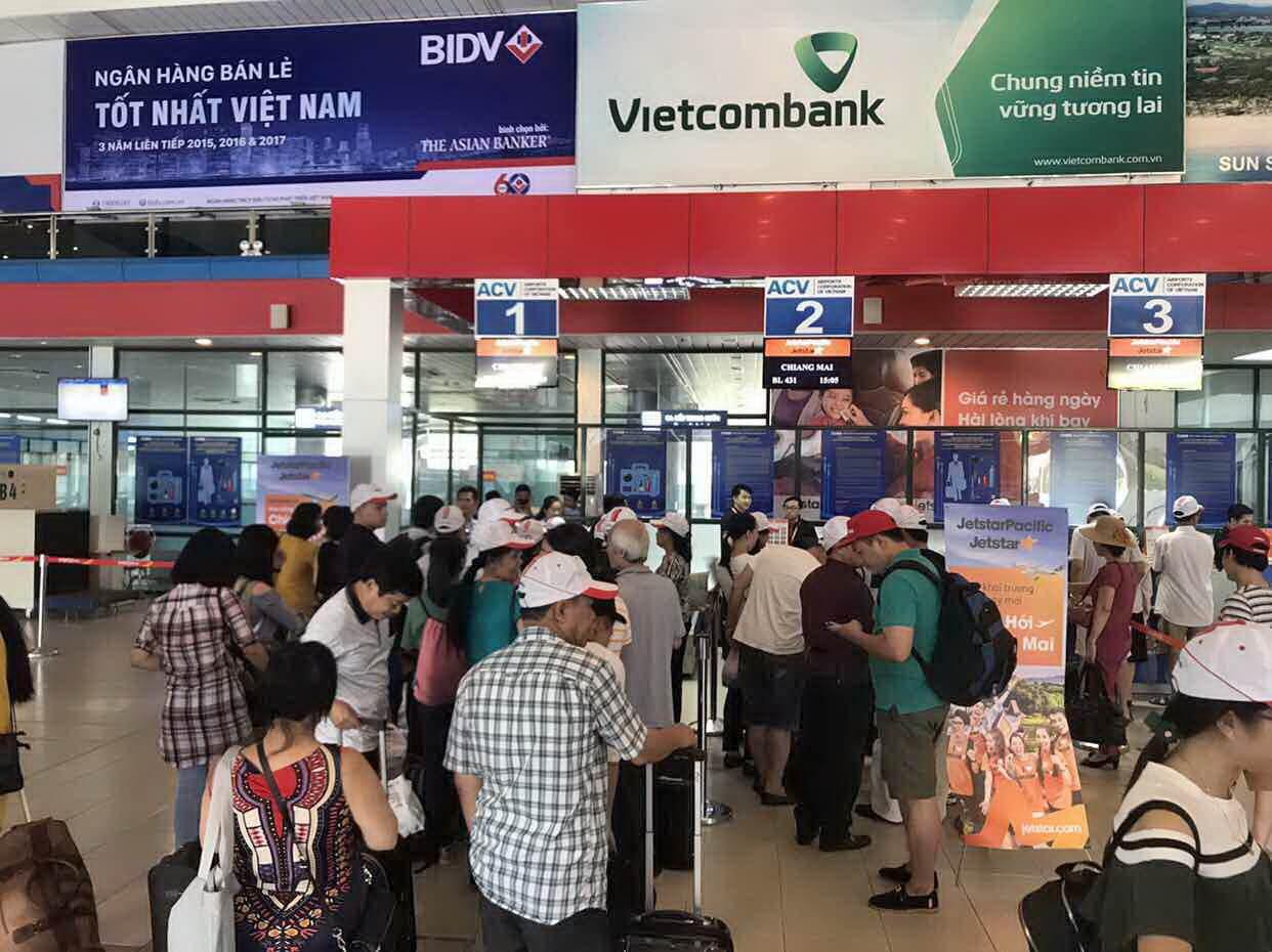 Hai chuyến bay đầu tiên từ Chiang Mai - Đồng Hới và ngược lại đạt 100% công suất