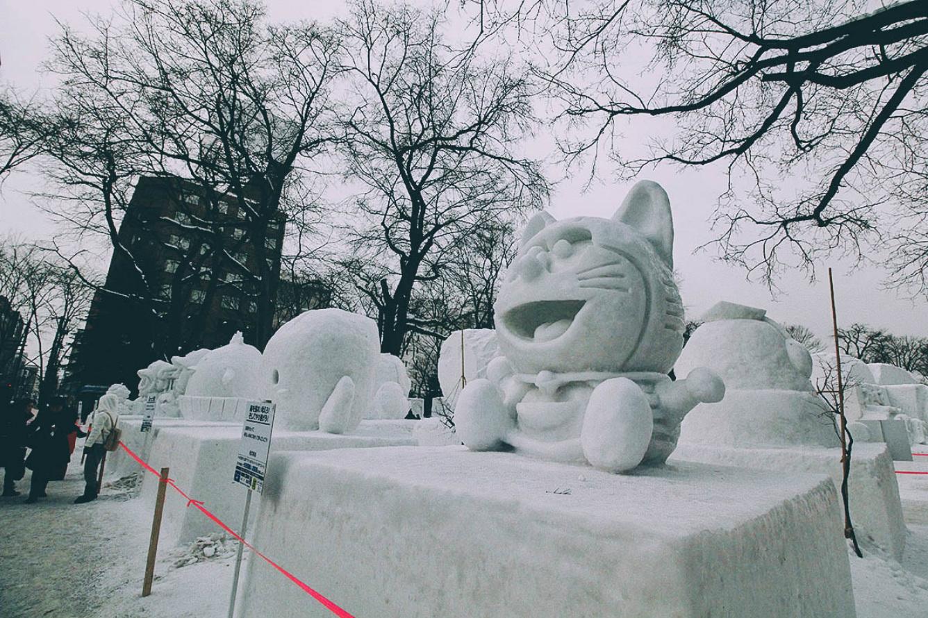 Tuyệt vời mùa tuyết trắng Sapporo