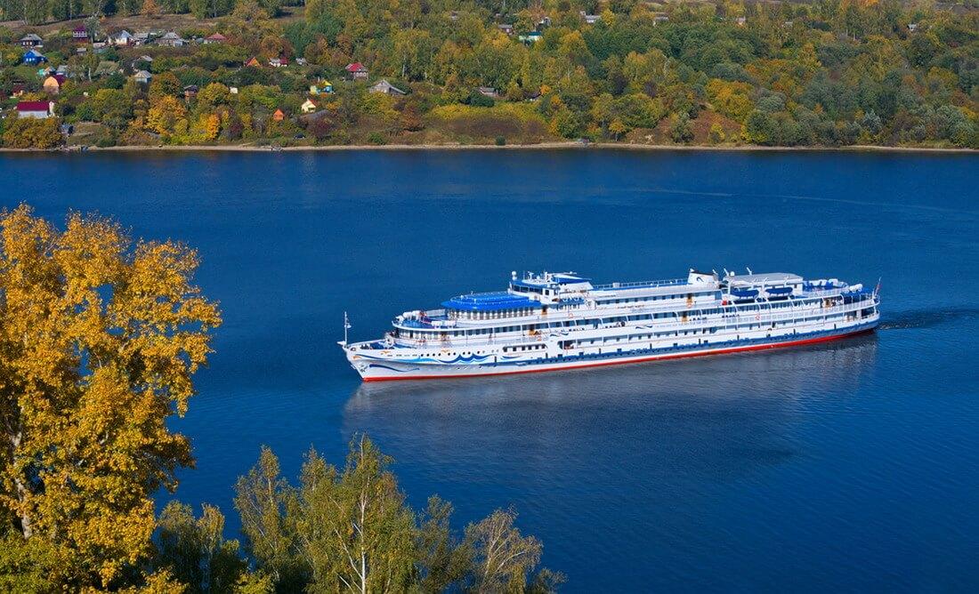 Vẻ đẹp cổ tích trên dòng sông Volga