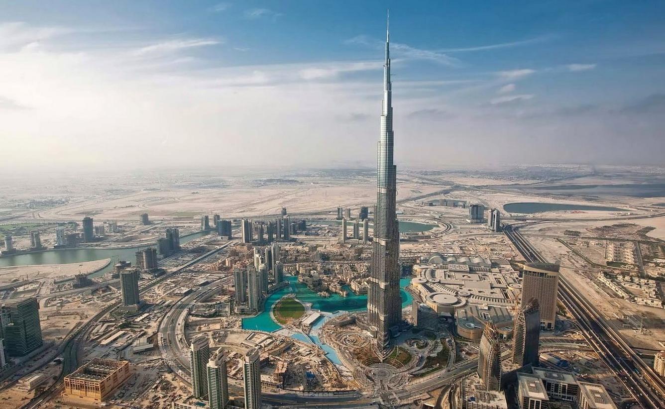 3. Tòa tháp Burj Khalifa
