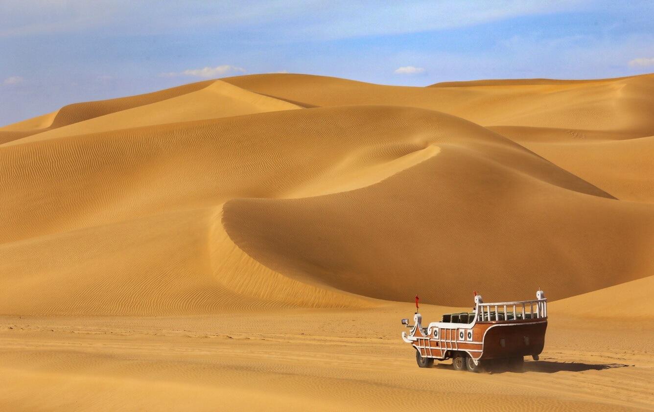Sa mạc Vọng Âm - thiên đường giải trí trên sa mạc