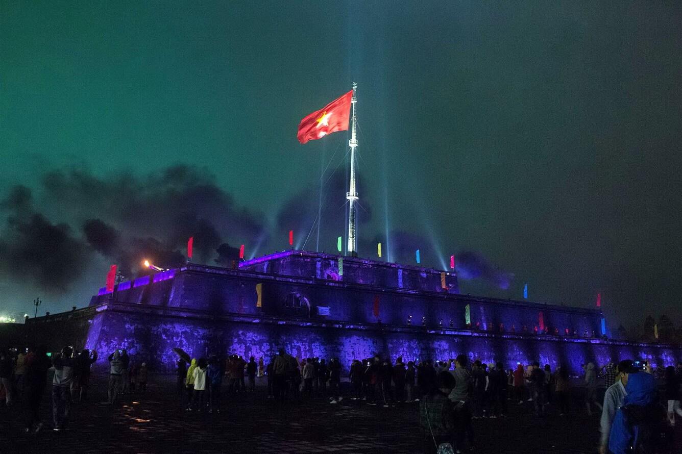 """""""Thắp sáng Kỳ Đài"""" tôn vinh giá trị văn hóa ngàn đời"""