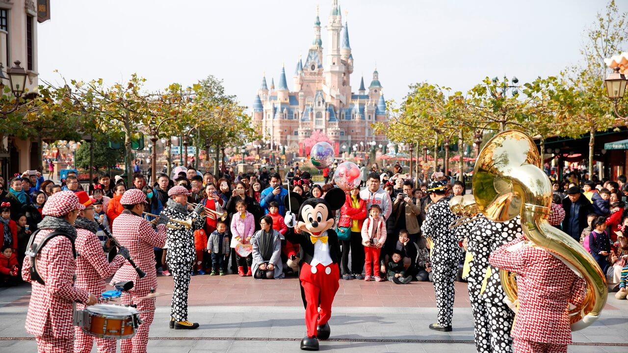 3. Thượng Hải Disneyland