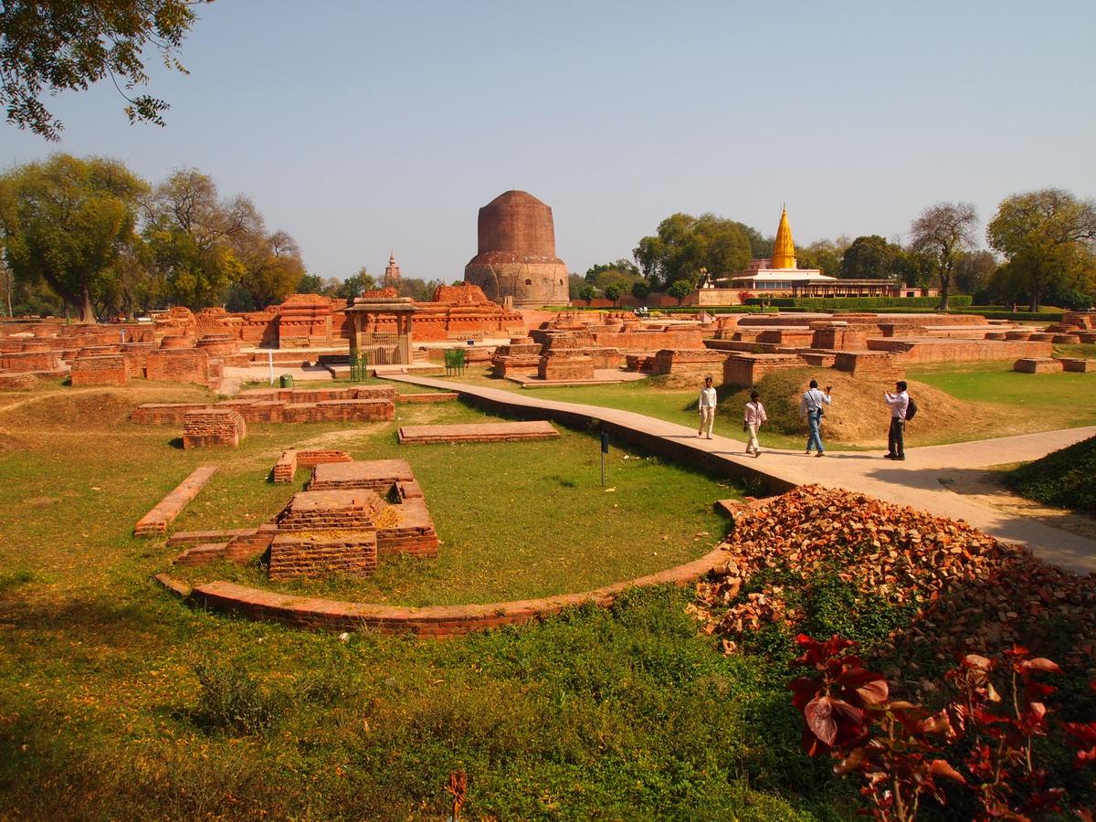 Sarnath - nơi đầu tiên đức Phật giảng pháp