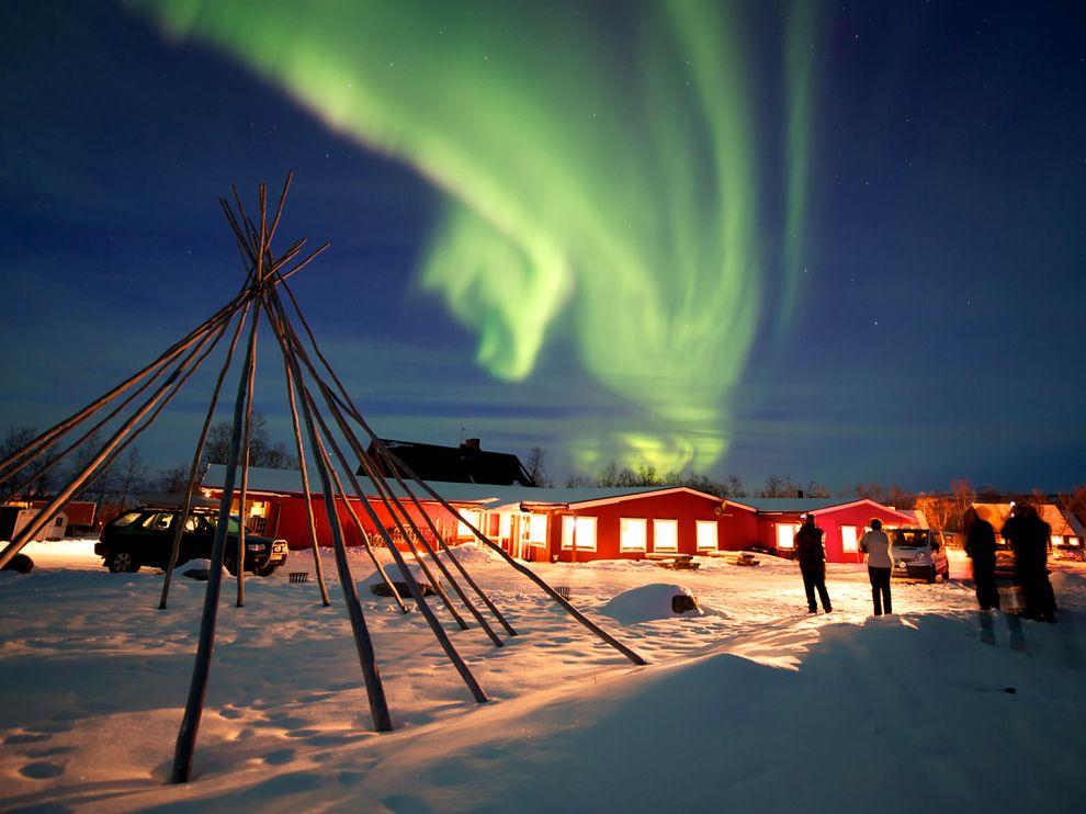 Những địa điểm lý tưởng nhất trên Trái đất để ngắm nhìn Bắc cực quang