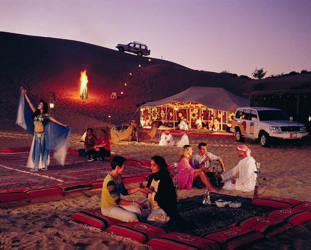 Chinh phục sa mạc Safari