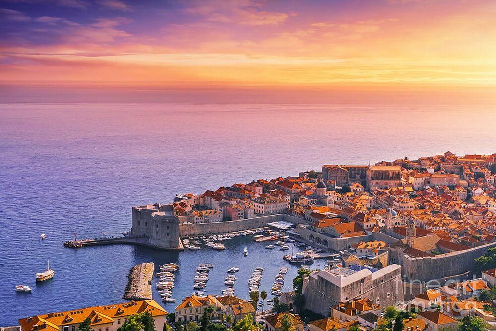 Dubrovnik, King's Landing của phim Game of Thrones