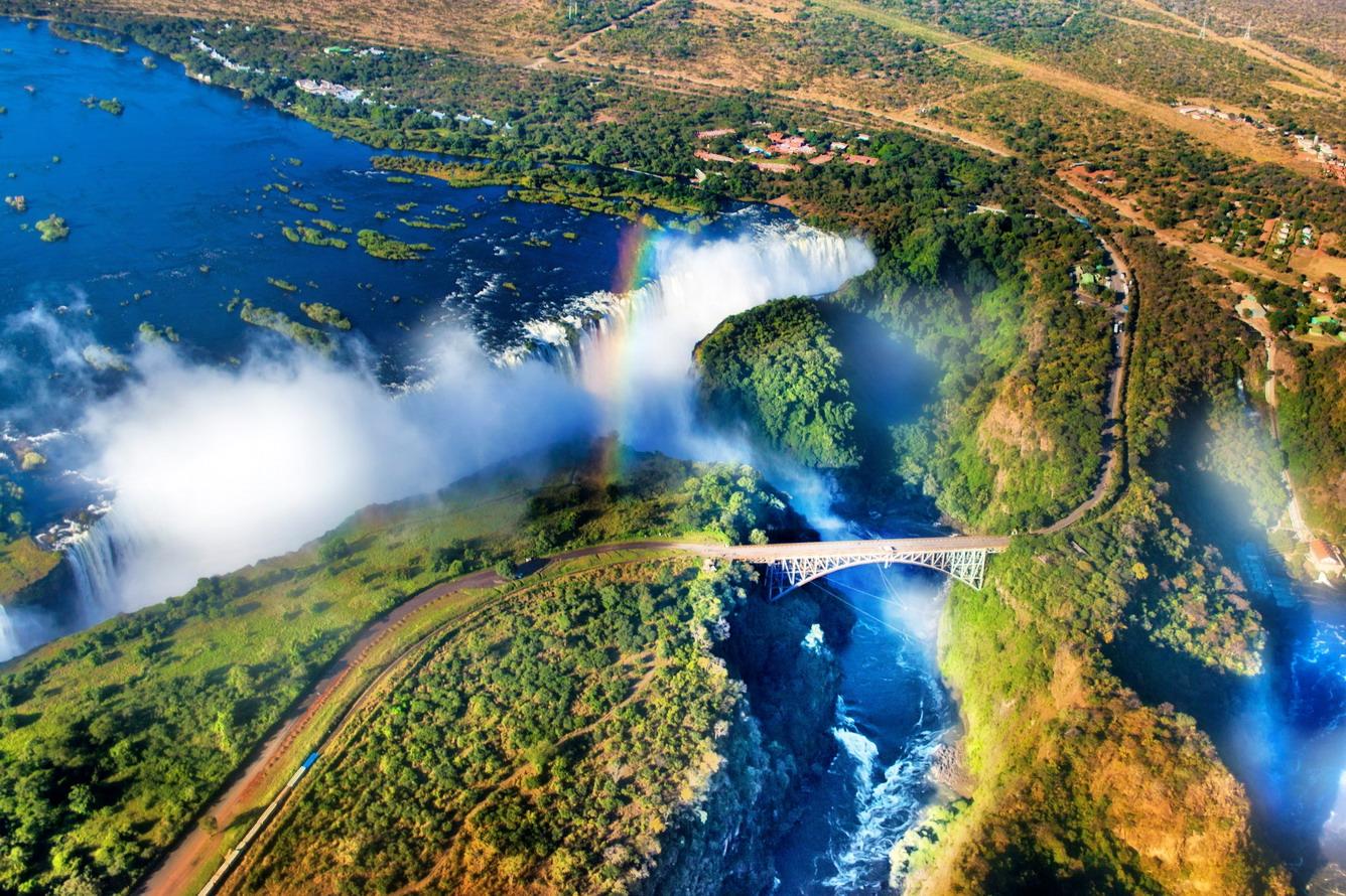 Victoria - thác nước ngoạn mục nhất trên thế giới