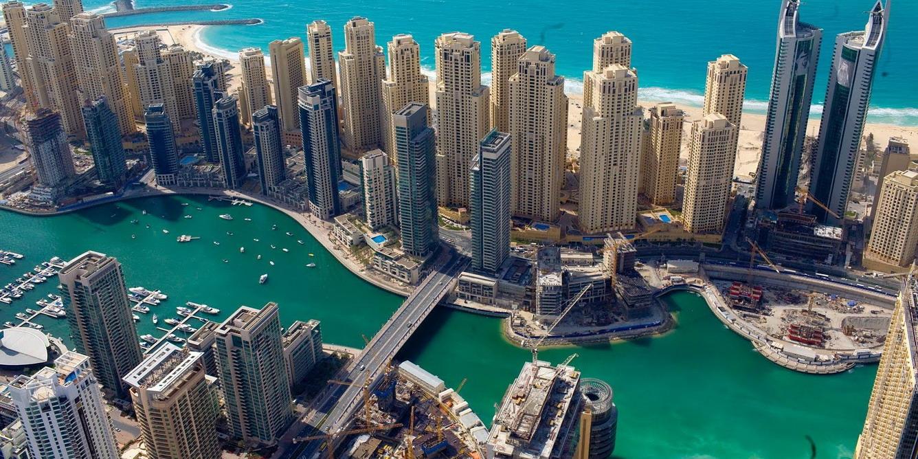 5. Kênh đào Dubai Marina