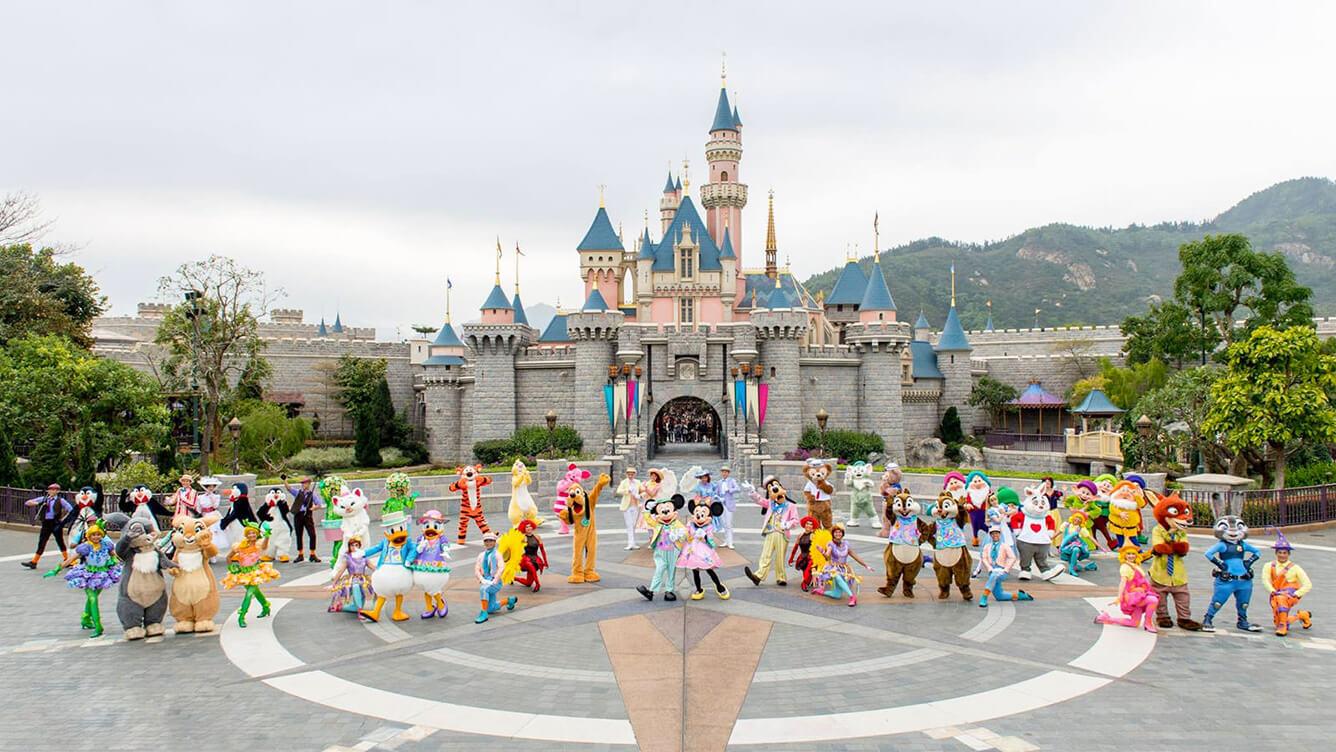 Hongkong - Disneyland, bảo tàng tượng sáp