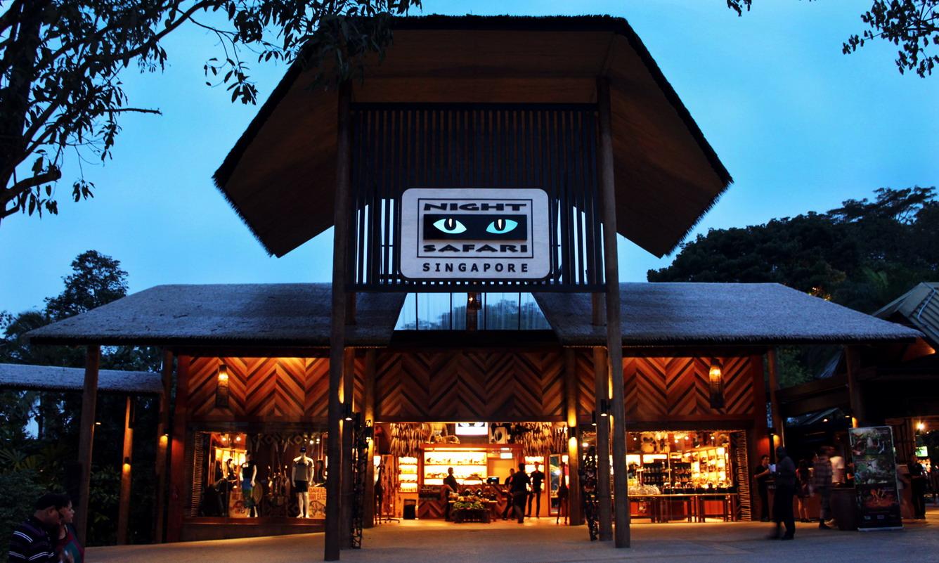 5.    Vườn thú đêm Night Safari