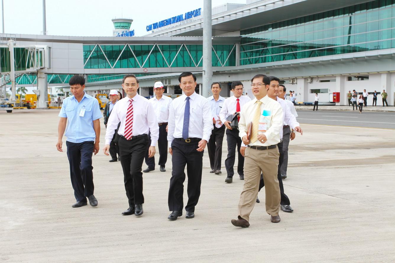 Mời bạn xem thêm hình ảnh chuyến bay Cần Thơ - Bangkok đầu tiên