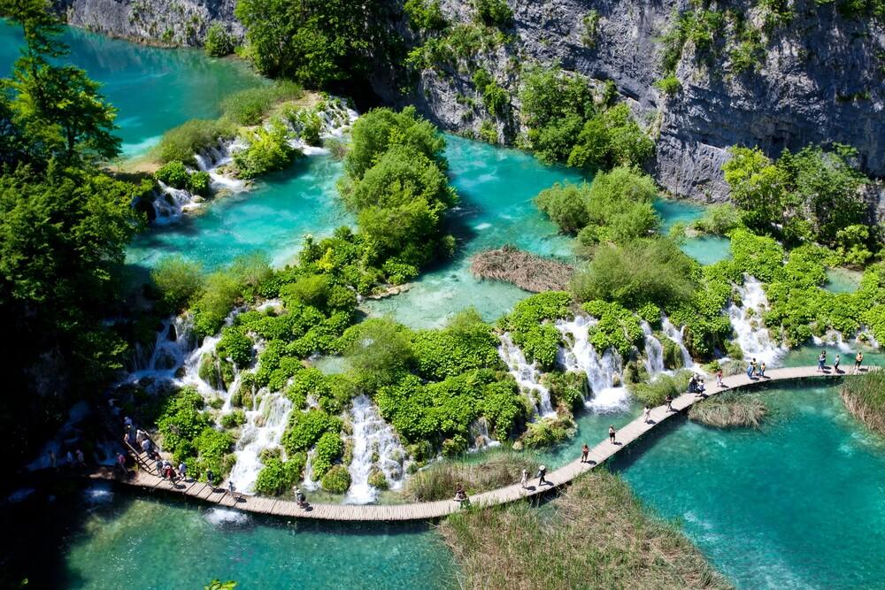 Hồ quốc gia Plitvice (Croatia)