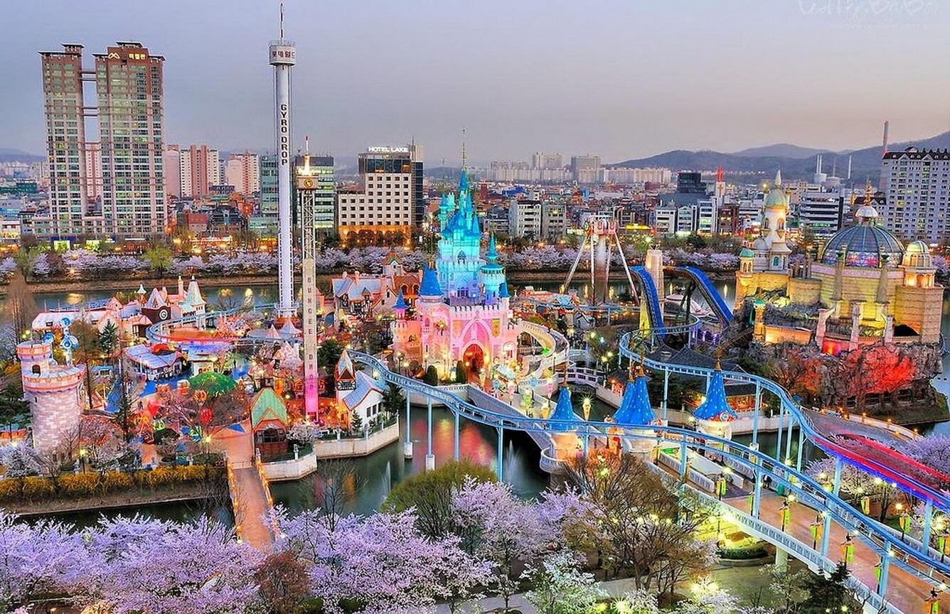 Công viên Everland và Lotte World, Hàn Quốc