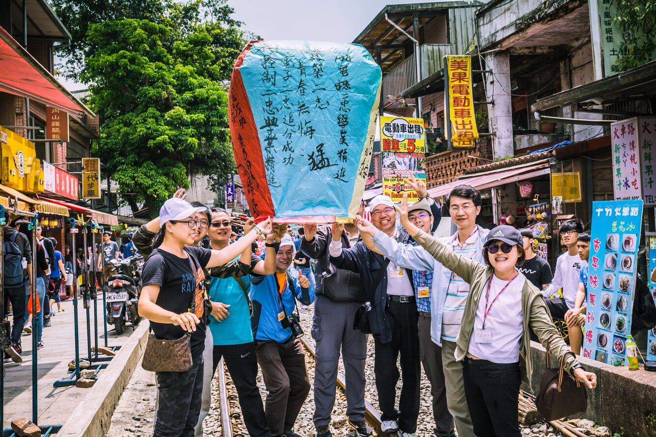 Đến Đài Loan thả đèn trời ước nguyện