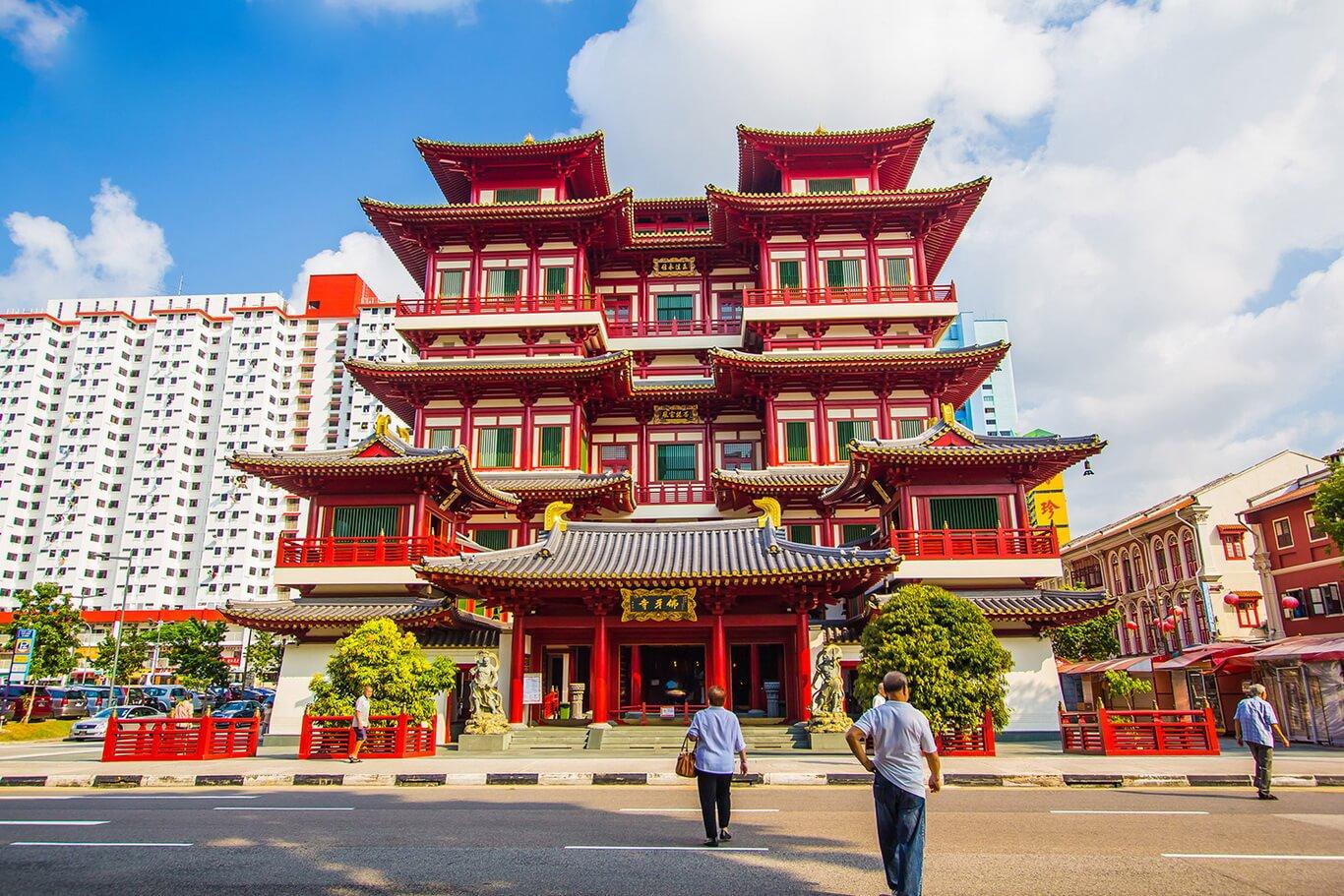 7. Chùa Phật Nha (Singapore)