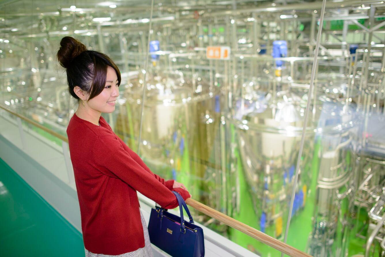 Nhà máy bia Kirin tại Torideshi