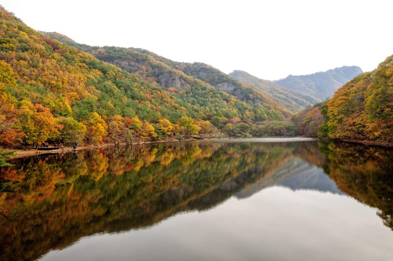 8. Hồ Jusanji (Cheongsong-gun)