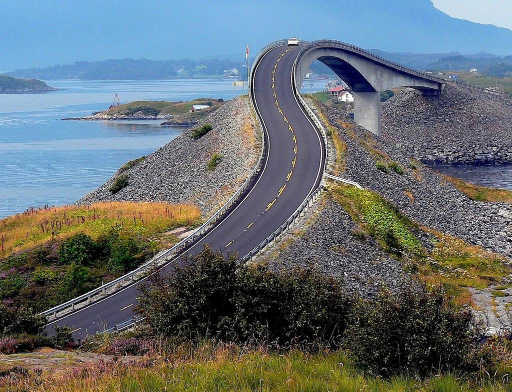 7. Atlantic Ocean Road