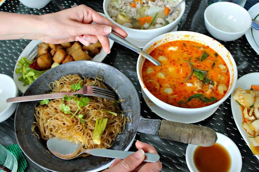 1. Eat Street Food