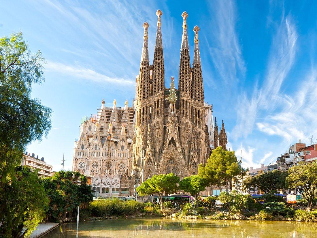 1. Basilica de la Sagrada Familia