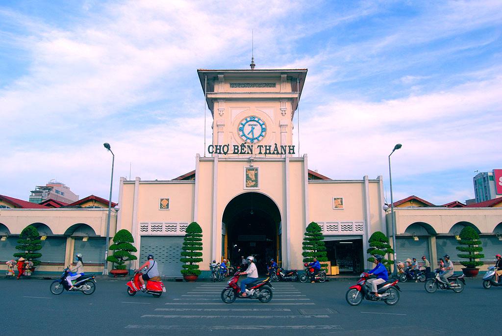 5. Ben Thanh Market, Ho Chi Minh City
