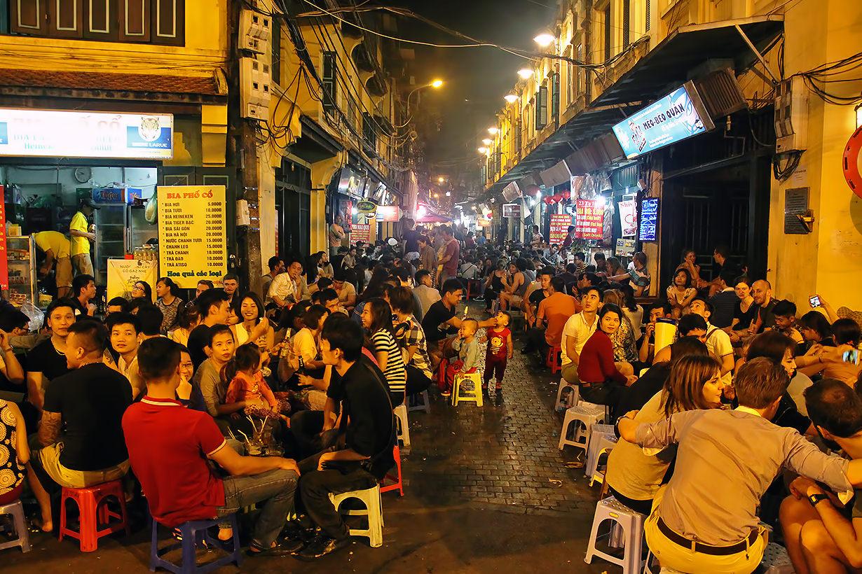 6. Drink homebrew at Hanoi's other Bia Hoi Corner