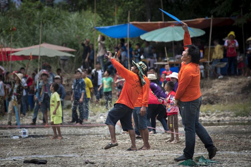 5. Laos - Bun Bang Fai