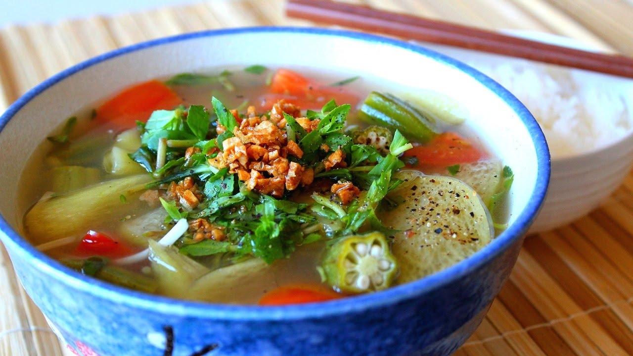 Canh Chua (Vietnamese Sour Soup)