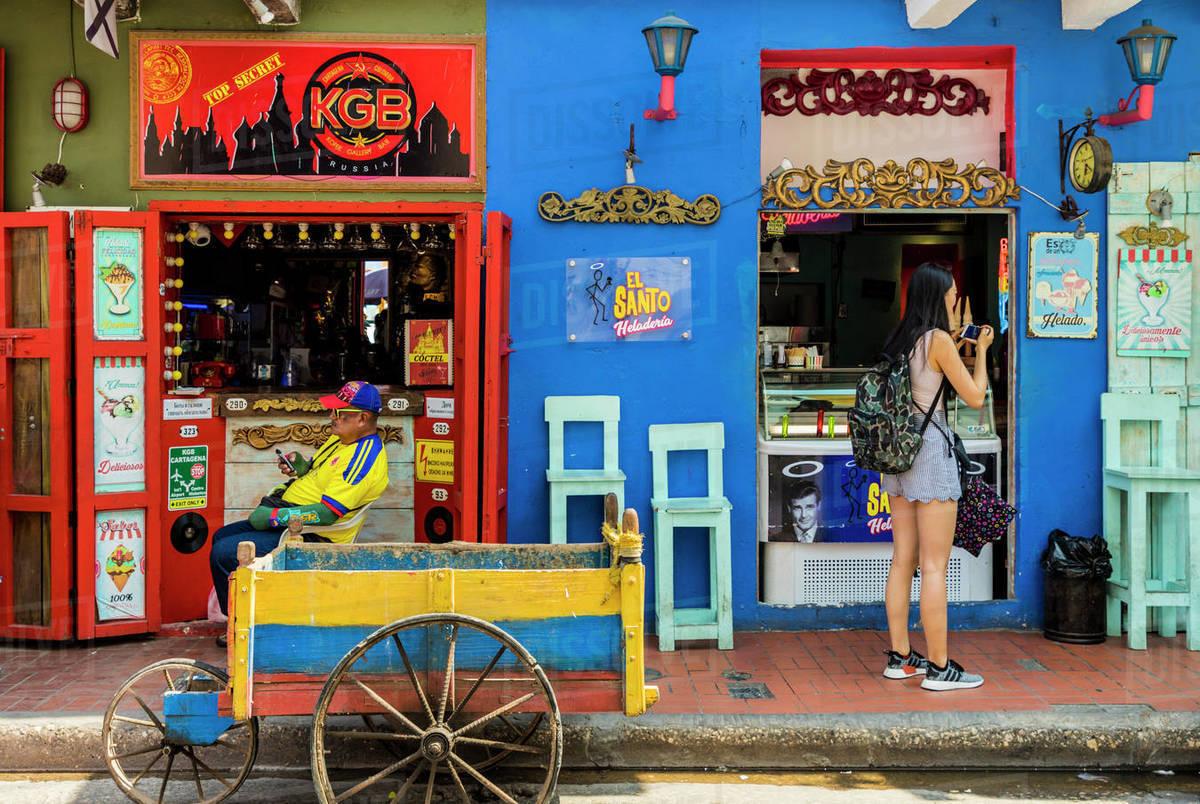 3. Cartagena's Old Town