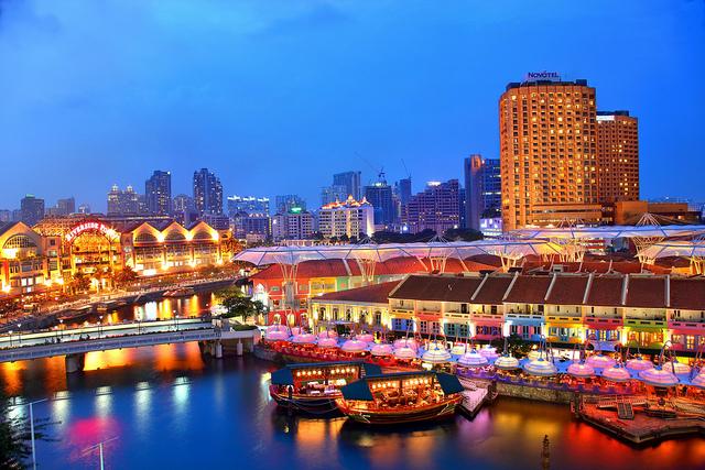 Đảo quốc Singapore 4 ngày, tặng vé Garden By The Bay