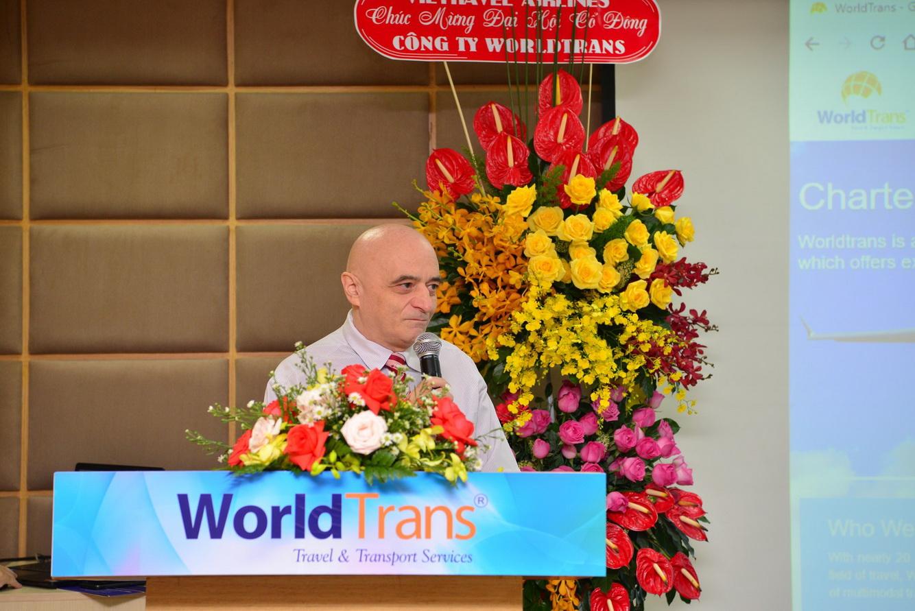 WorldTrans tổ chức Đại hội đồng Cổ đông thường niên năm 2020