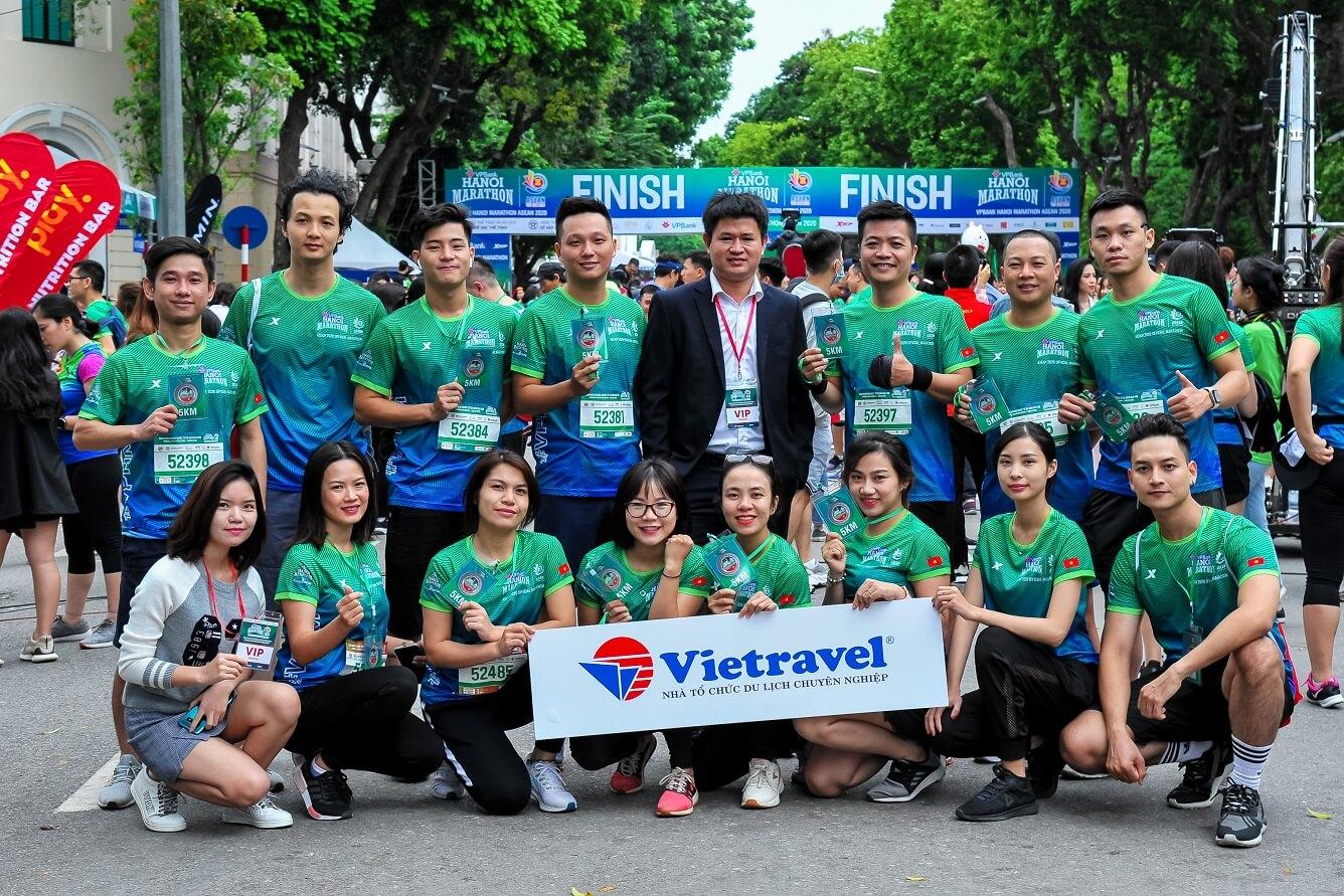 Vietravel đồng hành cùng Giải VPBank Hanoi Marathon Asean 2020