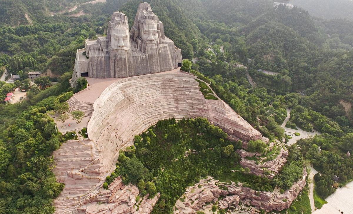 6. Emperors Yan and Huang (105 meters)