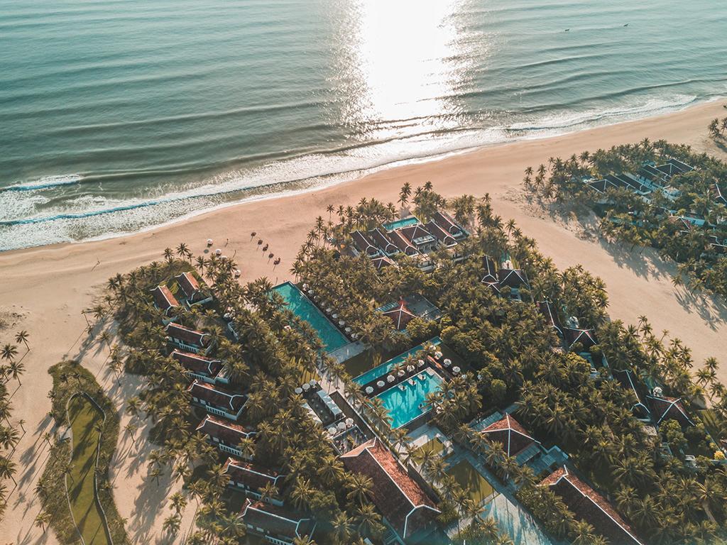 The Four Seasons Nam Hai - a beautiful resort