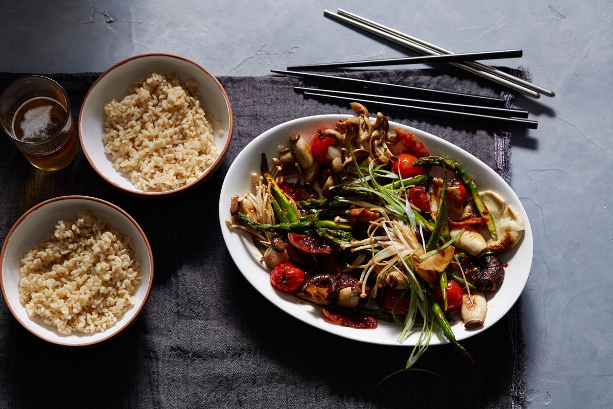 Grilled Chinese Black Mushroom
