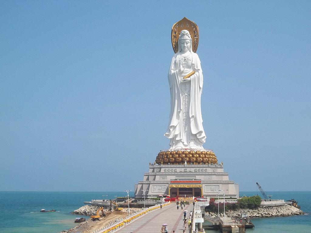 5. Guan Yin Statue (108 meters)