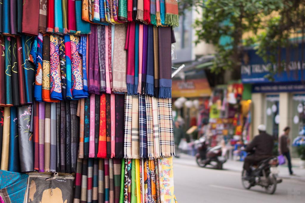 4. Hang Gai and Hang Bac Street, Ha Noi