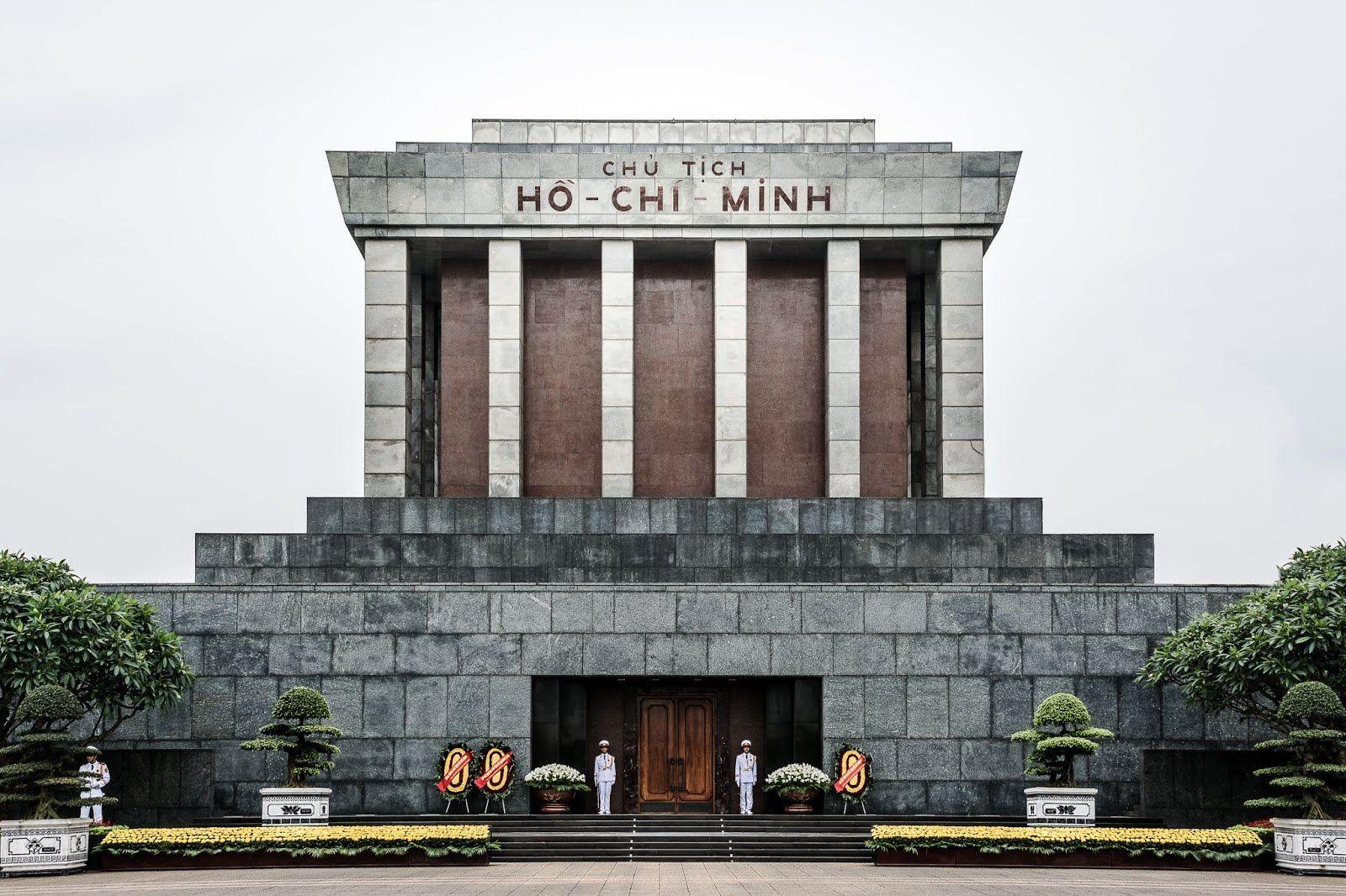 4. Ho Chi Minh Mausoleum
