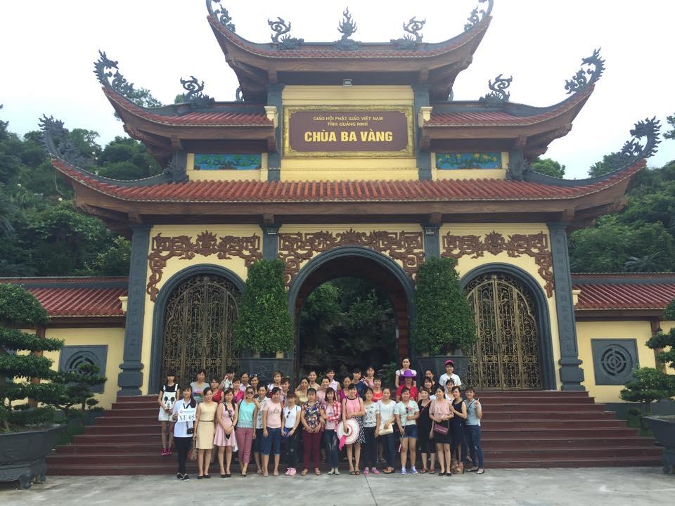 Vietravel Hải Phòng vinh dự đồng hành cùng đoàn 800 khách tham quan Chùa Ba Vàng - Hạ Long