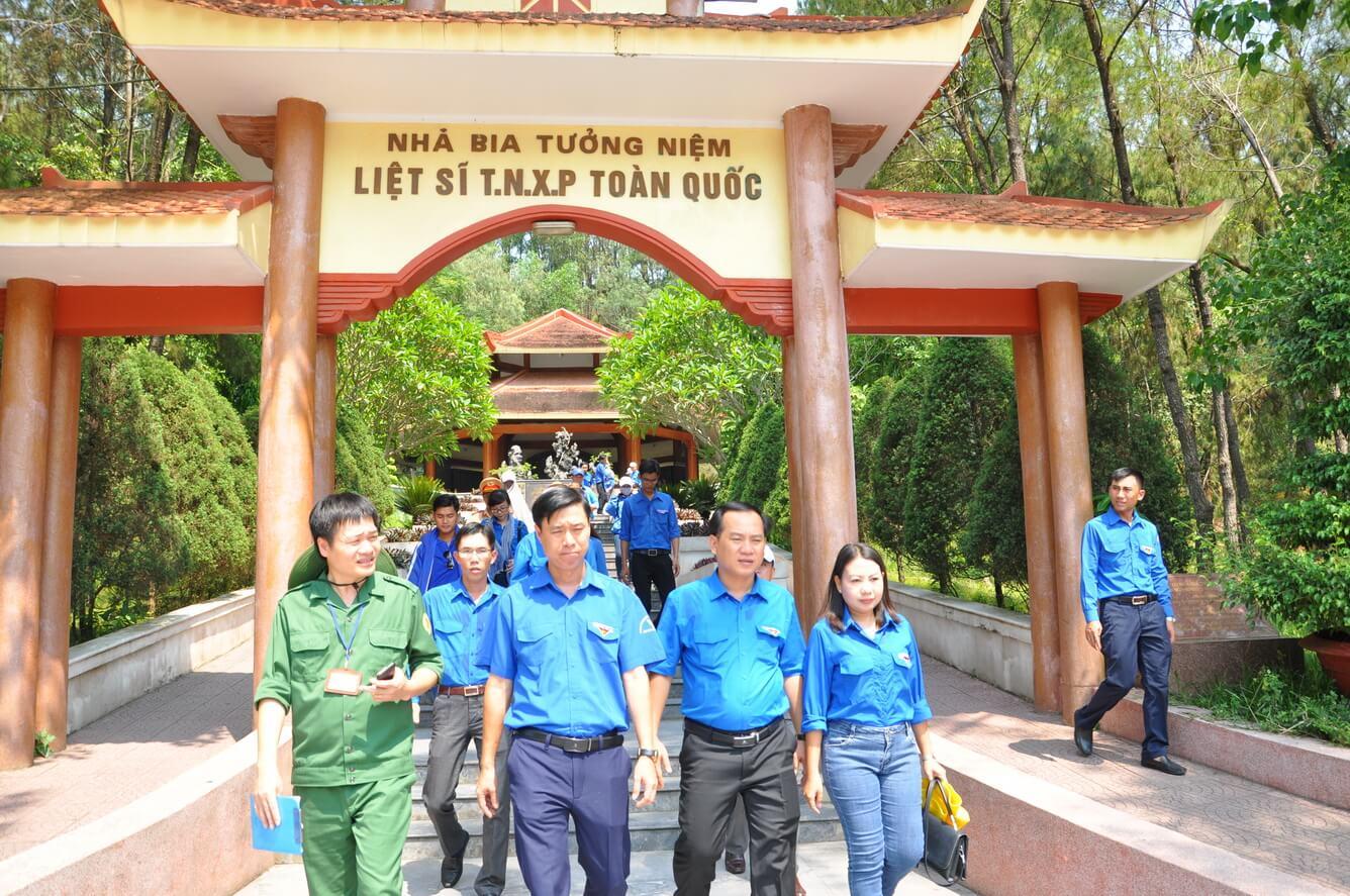 Vietravel Cà Mau tổ chức tour về nguồn 'Hành trình tuổi trẻ Cà Mau nhớ lời Di chúc theo chân Bác'