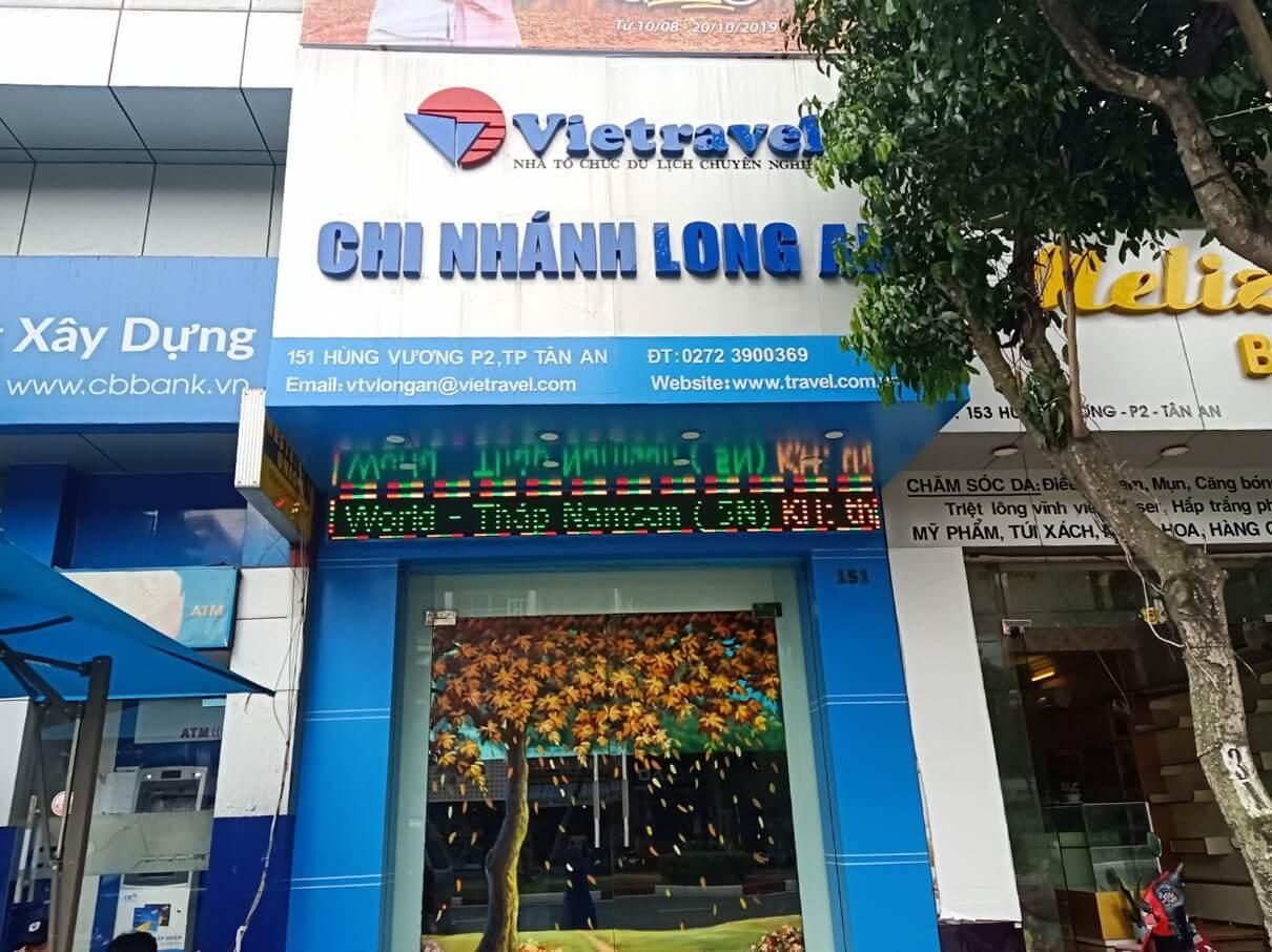 Vietravel Long An ưu đãi 'khủng' kỷ niệm 1 năm thành lập