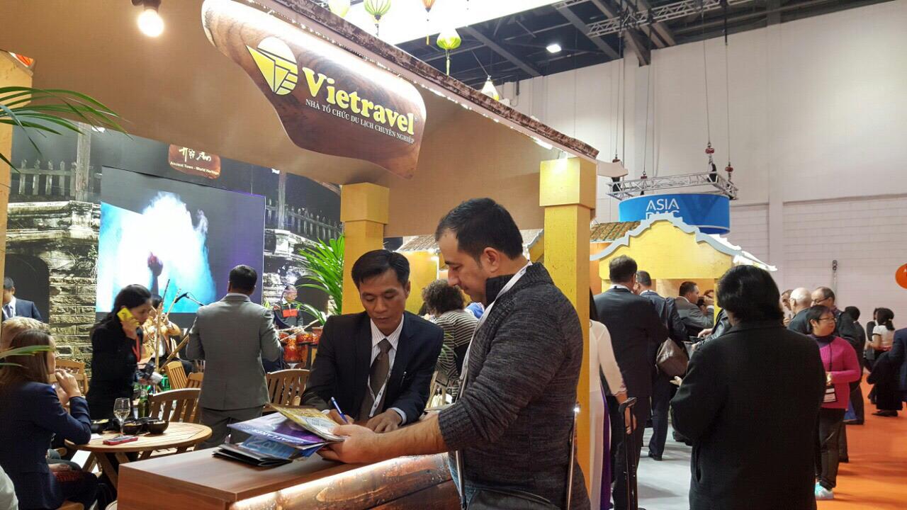 Hội chợ Du lịch Quốc tế WTM London 2016: Nhiều hoạt động hấp dẫn tại gian hàng Việt Nam