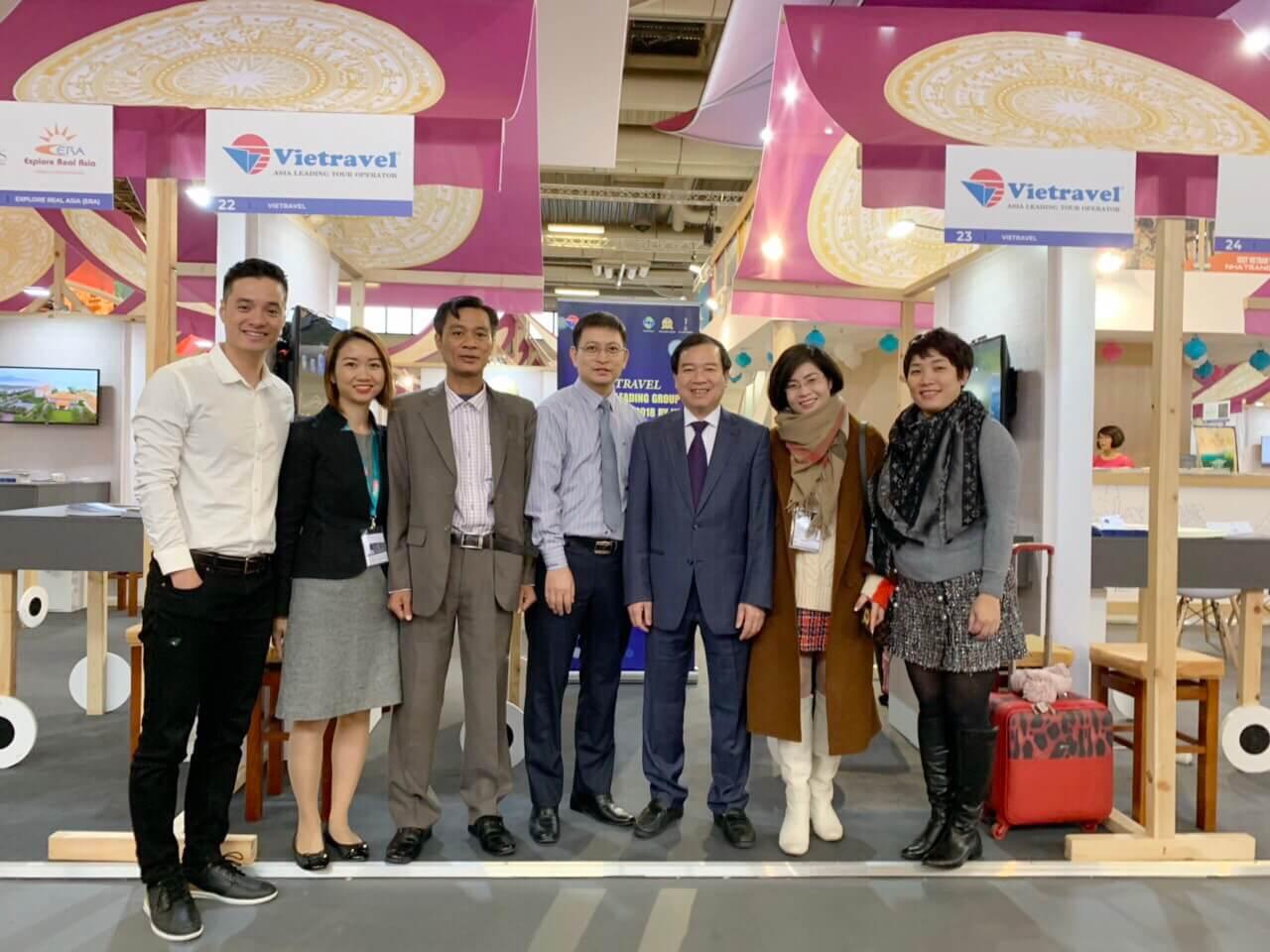 Vietravel quảng bá du lịch Việt Nam tại Hội chợ Du lịch Quốc tế ITB 2019