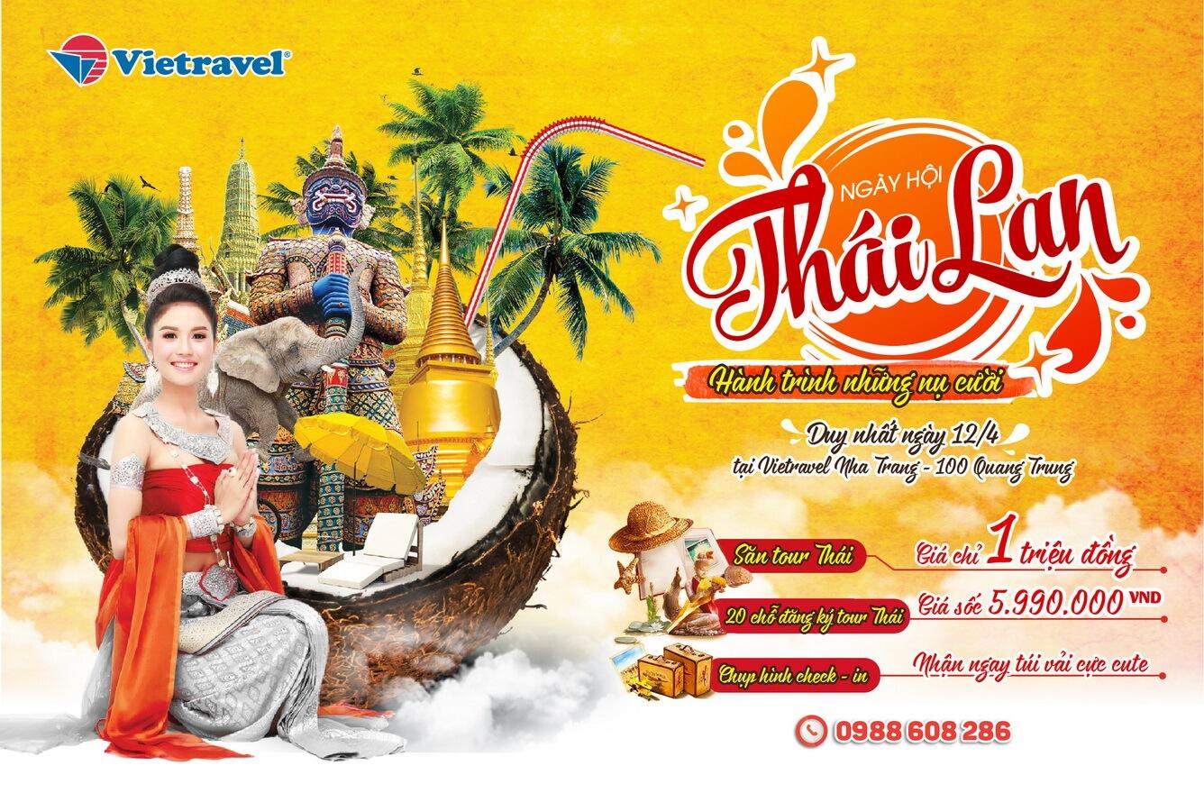 Ưu đãi hấp dẫn - Cơ hội du lịch Thái bay thẳng chỉ từ 1 triệu đồng