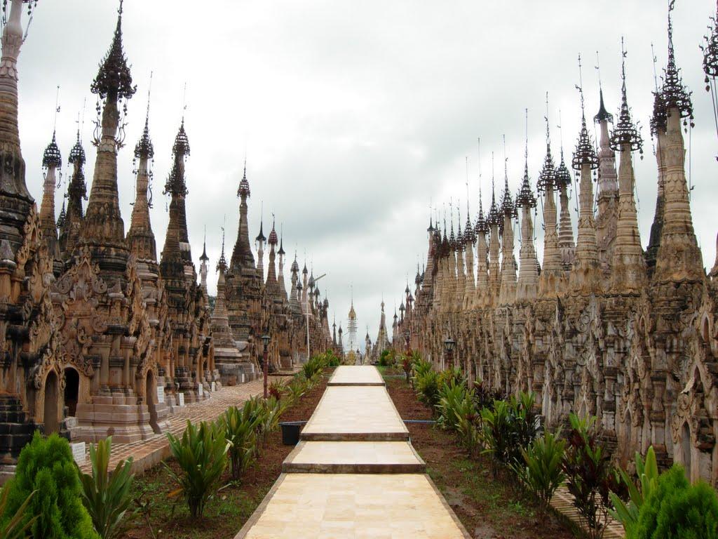 9. Kakku Pagodas